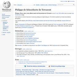 Philippe de Schoutheete de Tervarent