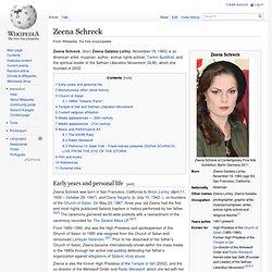 Zeena LaVey