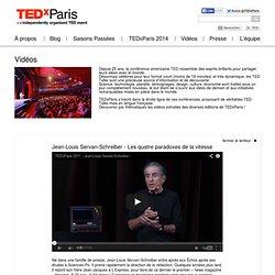 Jean-Louis Servan Schreiber : Les quatre paradoxes de la vitesse