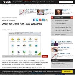 Schritt für Schritt zum Linux-Webadmin