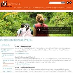 Die zehn Schritte ins pbi-Projekt