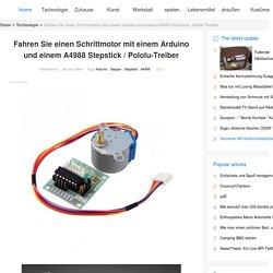 Fahren Sie einen Schrittmotor mit einem Arduino und einem A4988 Stepstick / Pololu-Treiber - Gunook