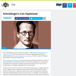 Schrödinger's Cat: Explained