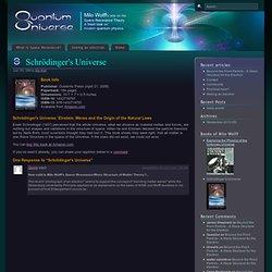 Schrödinger's Universe @ Quantum Universe