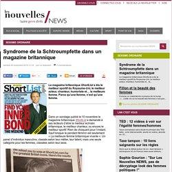 Syndrome de la Schtroumpfette dans un magazine britannique - Les Nouvelles NEWS