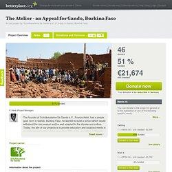 The Atelier - a Christmas Appeal for Gando, Burkina Faso – Schulbausteine für Gando e.V