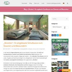 """Skoolies"": 16 umgebaute Schulbusse zum Staunen und Bewundern - CamperStyle.de"
