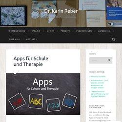 Apps für Schule und Therapie – Dr. Karin Reber