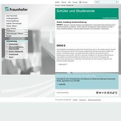 Schüler und Studierende – Fraunhofer-Gesellschaft