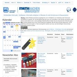 Schülerlabor Informatik - InfoSphere, Informatik entdecken in Modulen für alle Schulformen & Klassenstufen