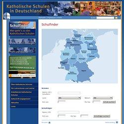 Schulfinder: Katholische Schulen in Deutschland