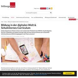 Bildung in der digitalen Welt & Schulinternes Curriculum - bildungsklick.de – macht Bildung zum Thema