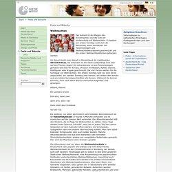 Schulprojekte - Feste und Bräuche-Goethe-Institut