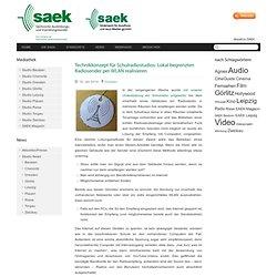 Technikkonzept für Schulradiostudios: Lokal begrenzten Radiosender per WLAN realisieren - SAEK.de - Sächsische Ausbildungs- und Erprobungskanäle