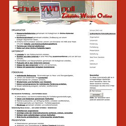 authentische Schulsituationen - SchuleZWOnull