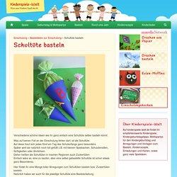 Schultüte basteln - Kinderspiele-Welt.de