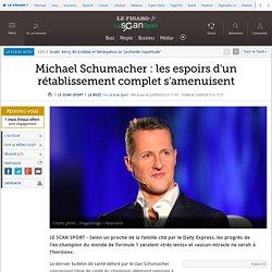 Michael Schumacher : les espoirs d'un rétablissement complet s'amenuisent