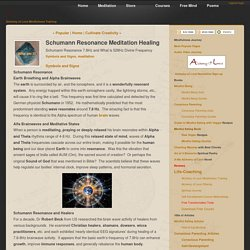 Schumann Resonance Meditation Ancient Sound Healing [Article]