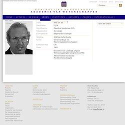 Schuyt, Prof. dr. mr. C.J.M. (Kees)