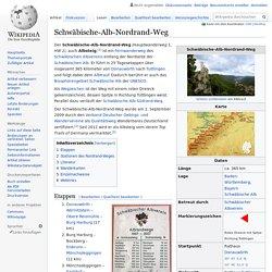 Schwäbische-Alb-Nordrand-Weg