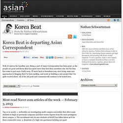 Stories: Korea Beat