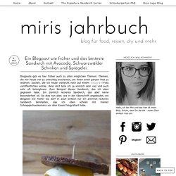 Avocado, Schwarzwälder Schinken und Spiegelei. miris jahrbuch: Ein Blogpost wie früher und das besteste Sandwich mit