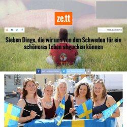 Sieben Dinge, die wir uns von den Schweden für ein schöneres Leben abgucken können