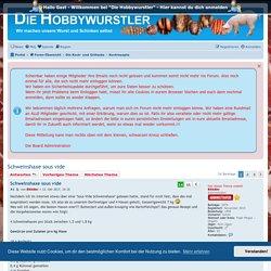 Schweinshaxe sous vide - Hobbywurstler