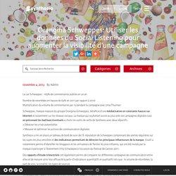 Orangina Schweppes: Utiliser les données du Social Listening pour augmenter la visibilité d'une campagne