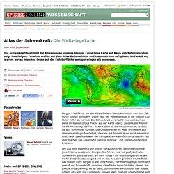 Atlas der Schwerkraft: Die Weltwiegekarte - SPIEGEL ONLINE - Nac