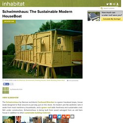 Schwimmhaus: The Sustainable Modern HouseBoat