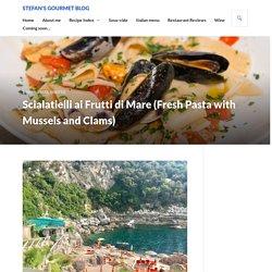 Scialatielli ai Frutti di Mare (Fresh Pasta with Mussels and Clams)