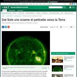 Dal Sole uno sciame di particelle verso la Terra - Spazio & Astronomia