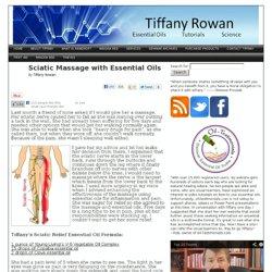 Sciatic Massage with Essential Oils