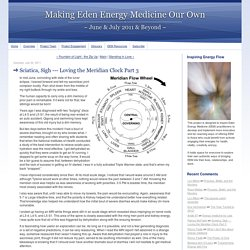 Loving the Meridian Clock Part 3 - Making Eden Energy Medicine Our Own