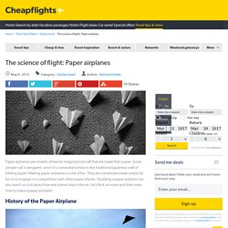 Science of Flight: Paper Airplanes
