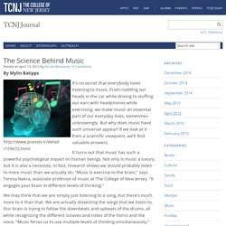 The Science Behind Music – TCNJ Journal