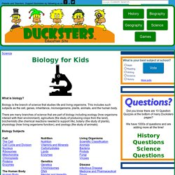 Science: Biology for Kids