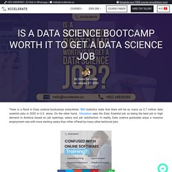 Is a Data Science Bootcamp worth it to get a Data Science Job