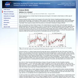 GISS: Science Briefs: Whither U.S. Climate?