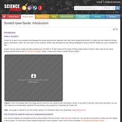 Science Buddies: Scratch User Guide: Introduction