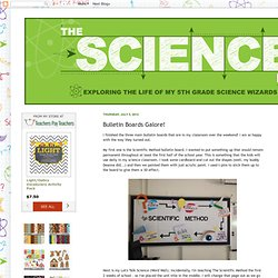 The Science Life: Bulletin Boards Galore!