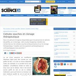 Article - Cellules souches et clonage thérapeutique