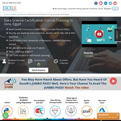 Data Science Certification Course Training In Giza, Egypt