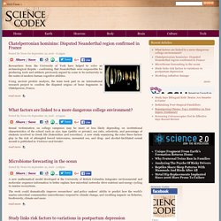 Science Codex | Science news, science articles, all day, every day