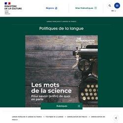 «Les mots de la science» : une collection d'audios pour dire la science en français