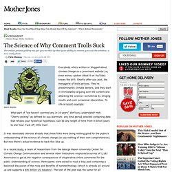 The Science of Why Comment Trolls Suck