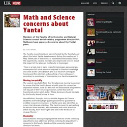 27-05-2015 Math and Science concerns about Yantai