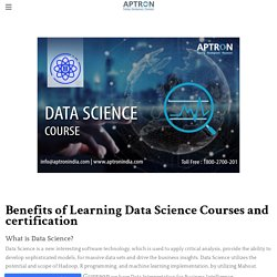 Data Science Course - Lift Your Career with a Data Science Course and certification