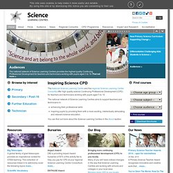 Science CPD For Science Educators